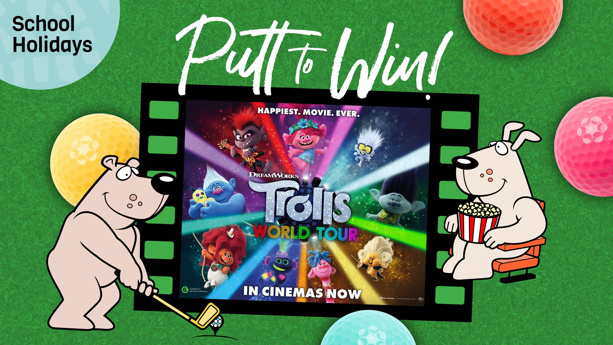 Putt & Win these school holidays